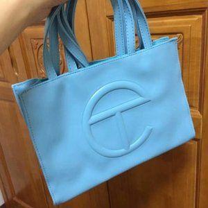 Telfar Medium Bright Blue Shopping Bag